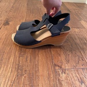 SVEN Wedge Sandal Clogs size 40